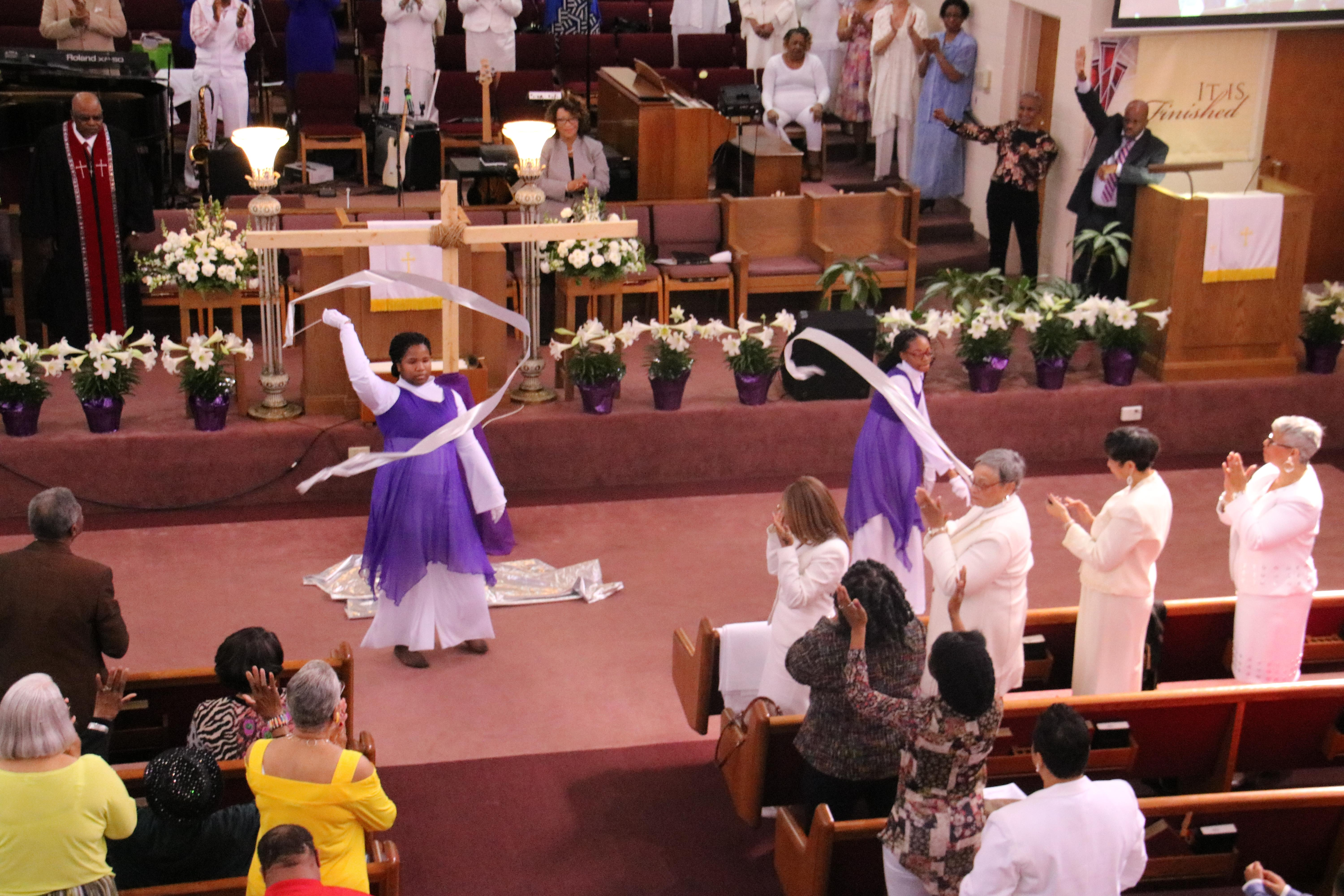 Praise Dancers - Easter Sunday 2018