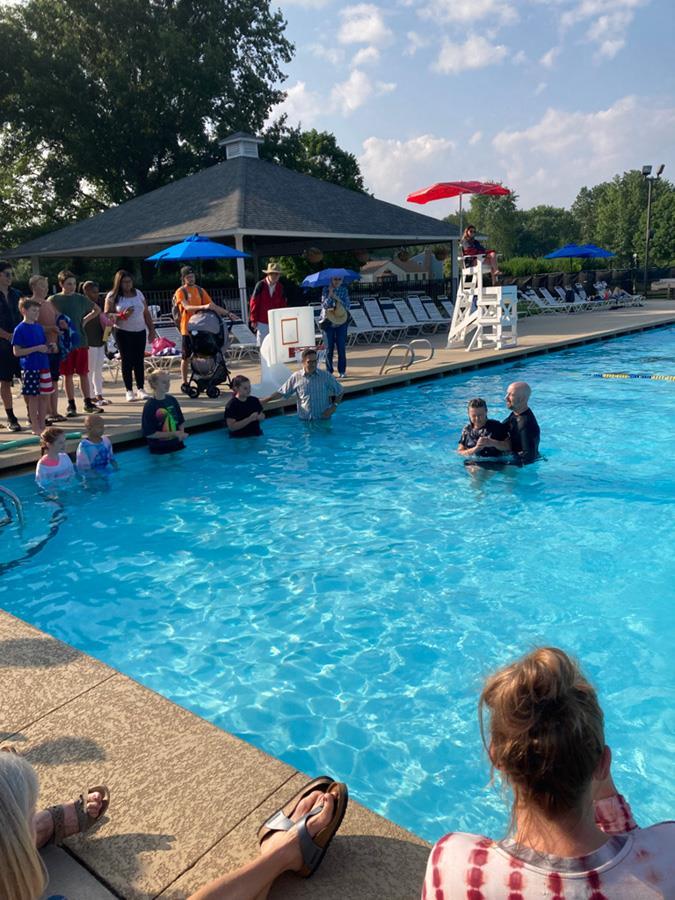 New Covenant Baptisms August 1, 2021