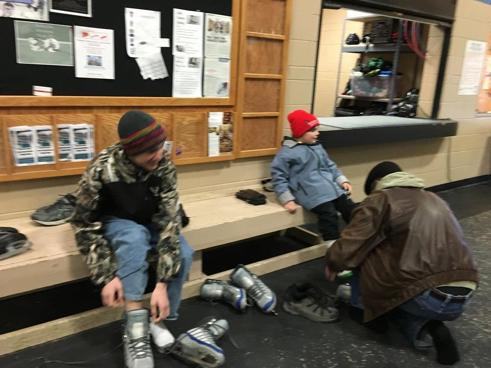 YOUTH SKATING AT NAGA-WAUKEE