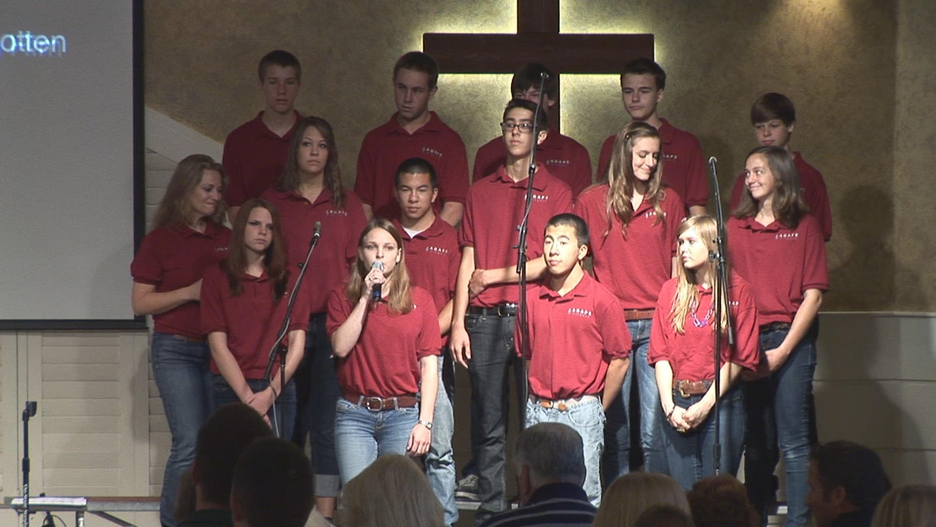 Pre-Tour Sunday June 17, 2012: Agape Singers featured