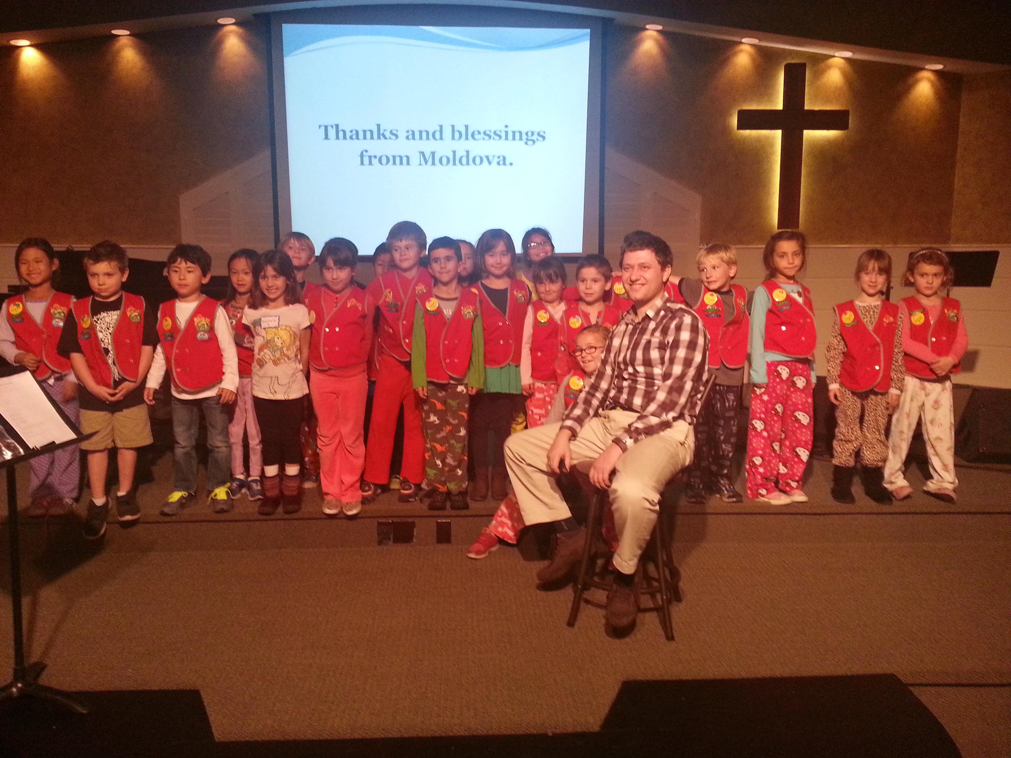 Cip spoke to four different AWANA groups