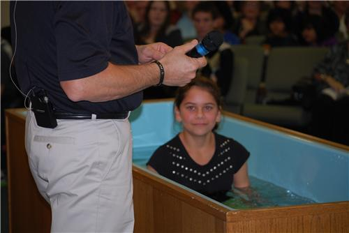 Water Baptisms 1/30/11