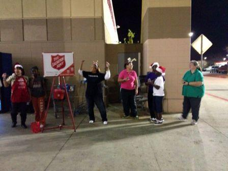 Salvation Army Outreach 2012