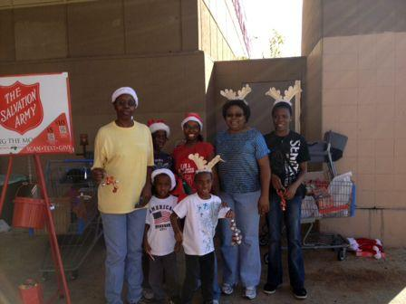 Salvation Army Outreach 2012