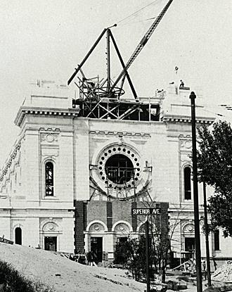 Pro-Cathedral Construction 1911