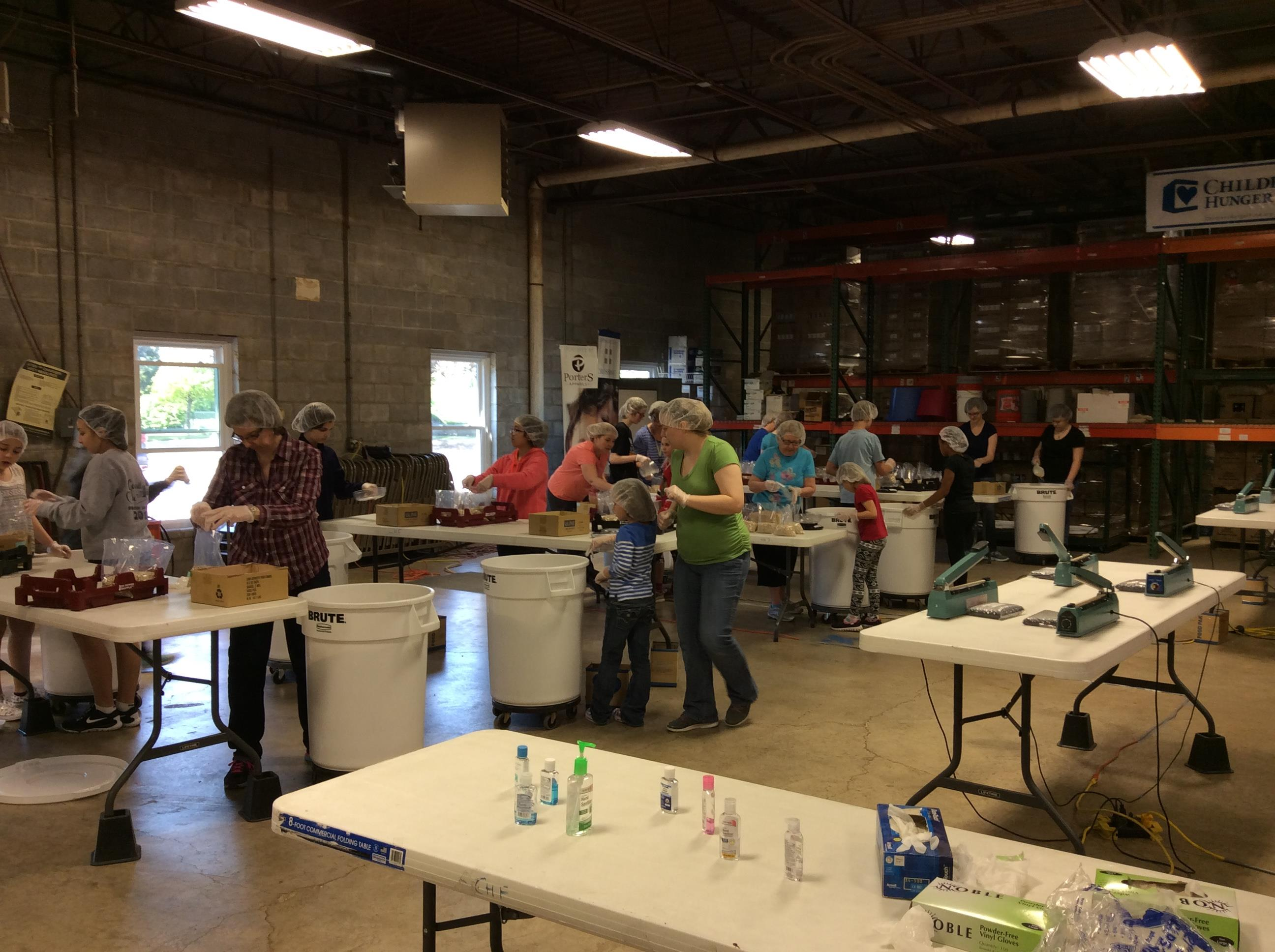 Service Project:  Children's Hunger Fund