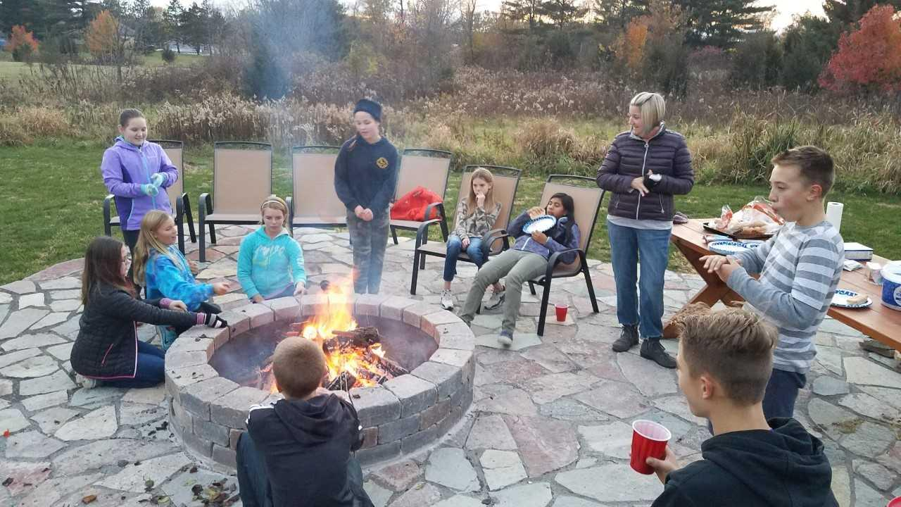Jr. High Youth Group Fall Bonfire