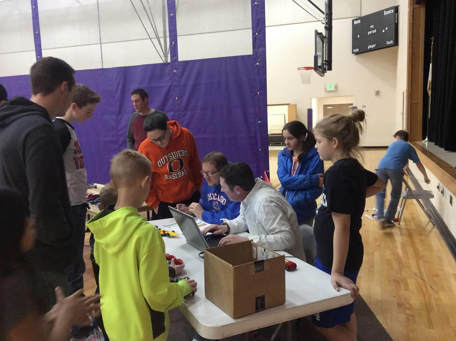 Pinewood Derby Race Family Night February 10, 2016
