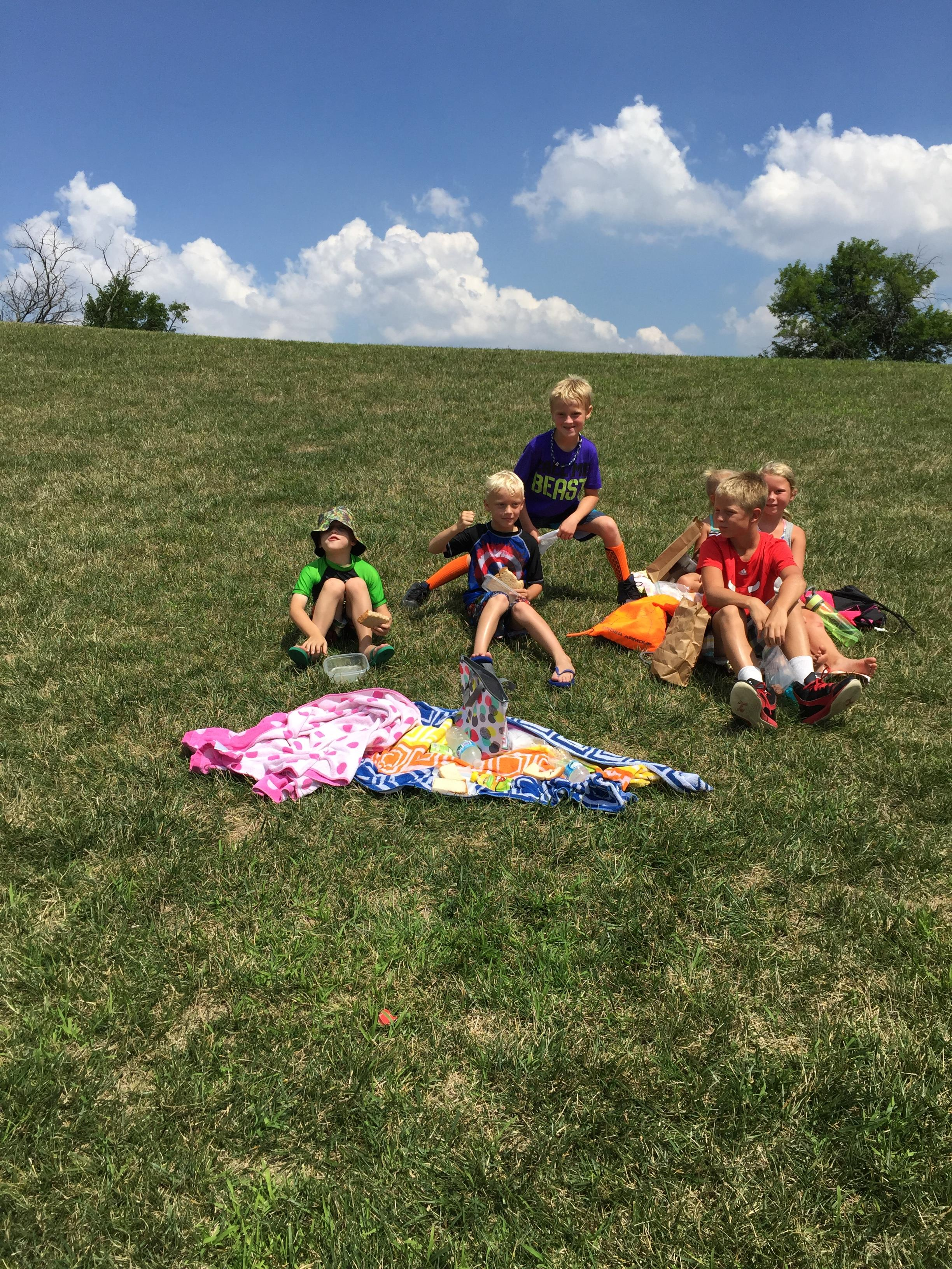July 27, 2016 St. John Splash Pad Play Date