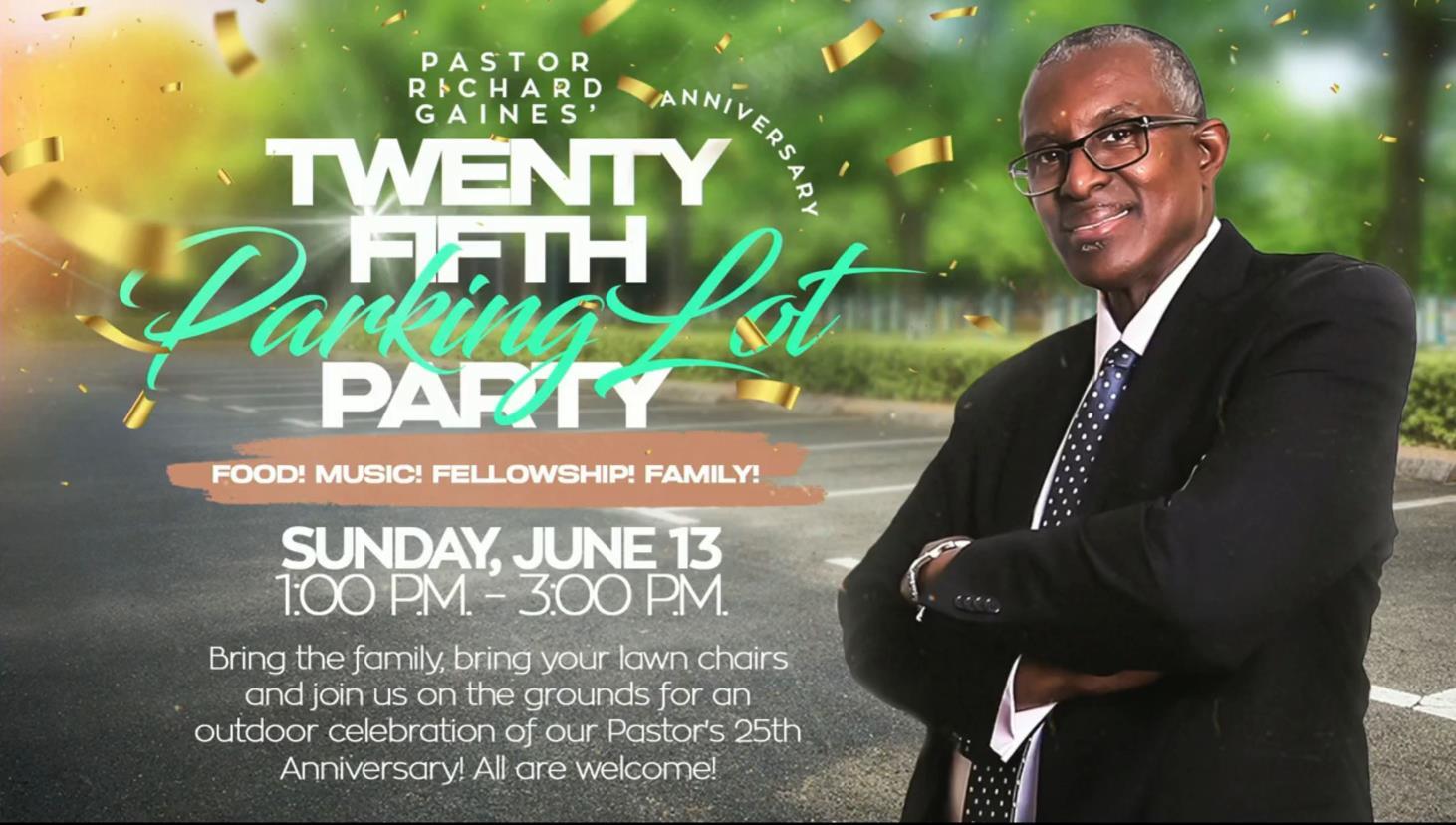 Pastor's Parking Lot Party