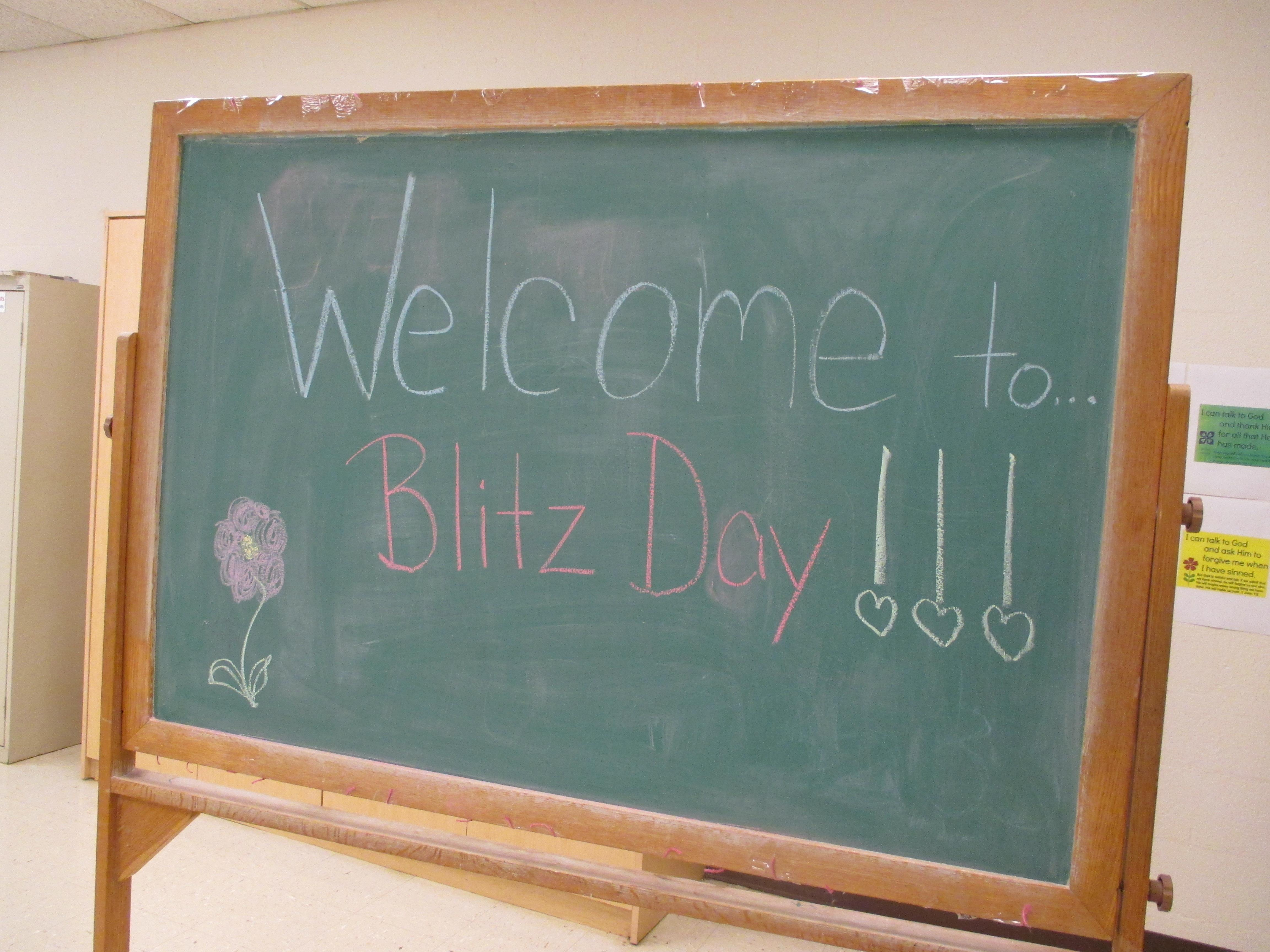 A Look Inside Blitz Day