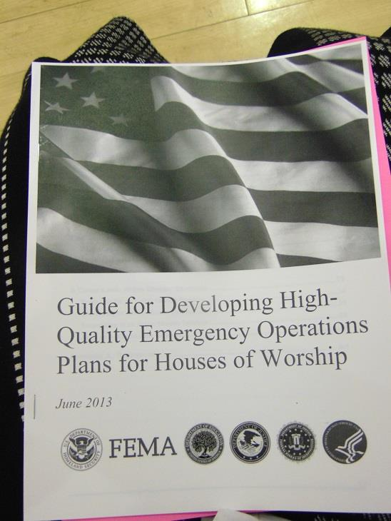 Emergency Preparedness Plan For Houses Of Worship