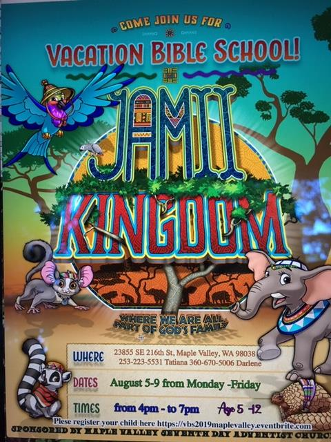 2019 VBS - JAMII KINGDOM