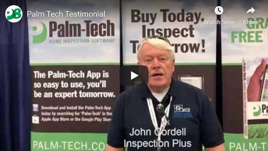 John Cordell of Home Inspection Plus shares why he likes Palm-Tech Home Inspection Software