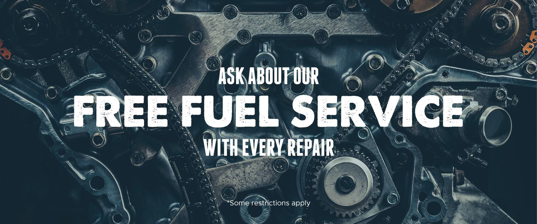 Houston Performance Diesel - Free Fuel Service