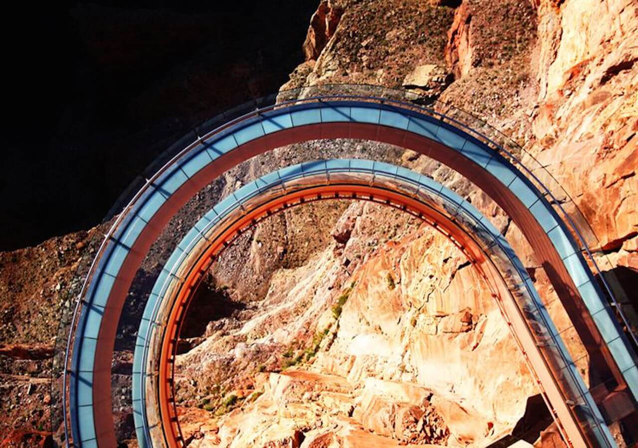 grand canyon west- skywalk