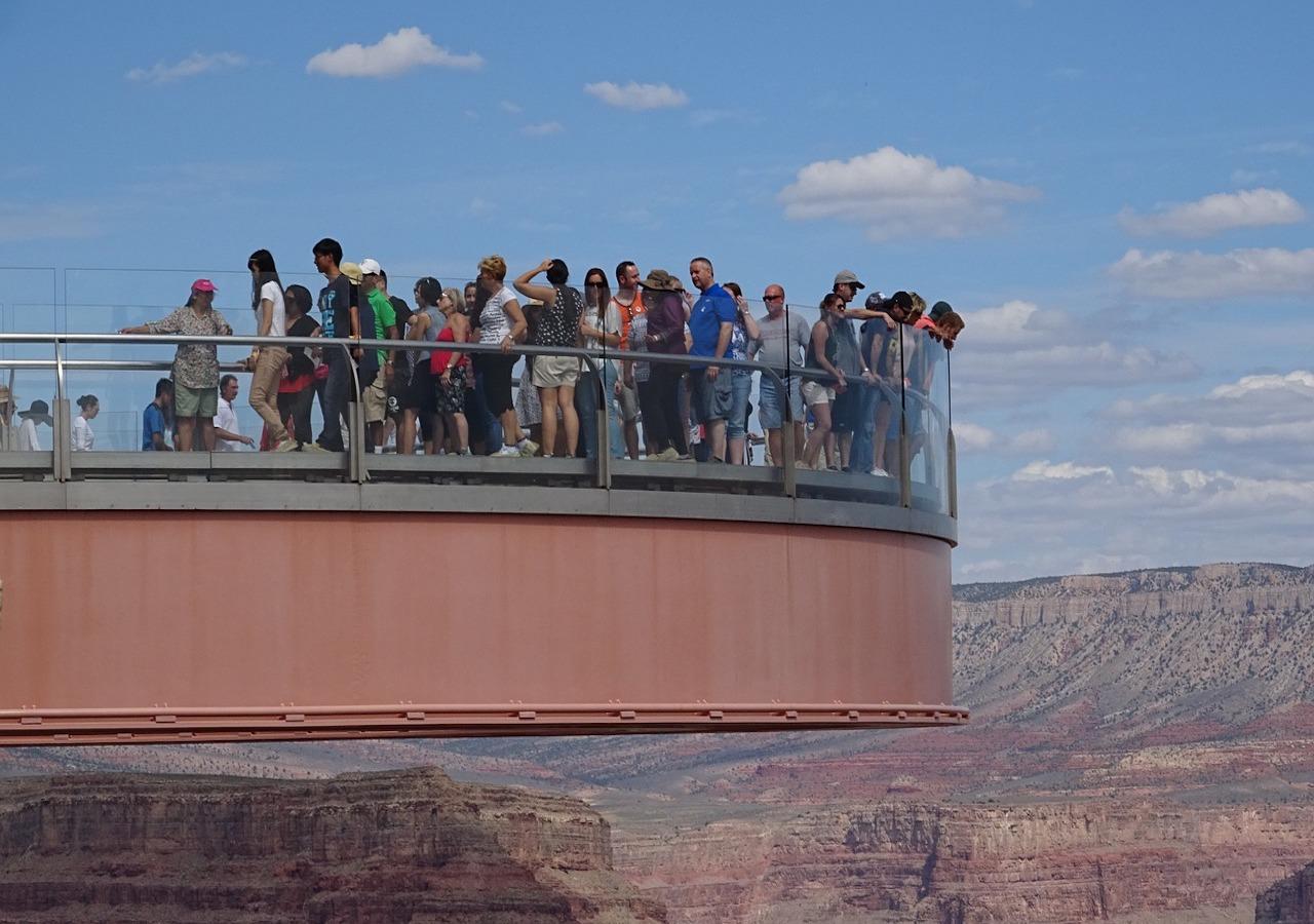 拉斯维加斯 - 西峡谷 - 玻璃桥