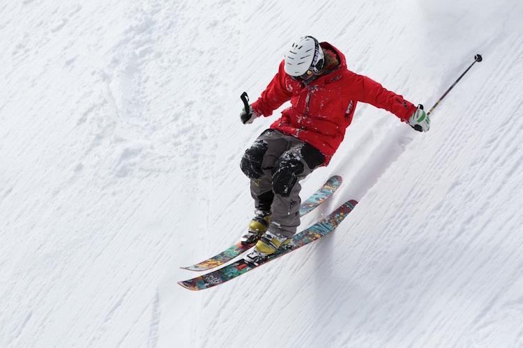 真枪实弹+滑雪