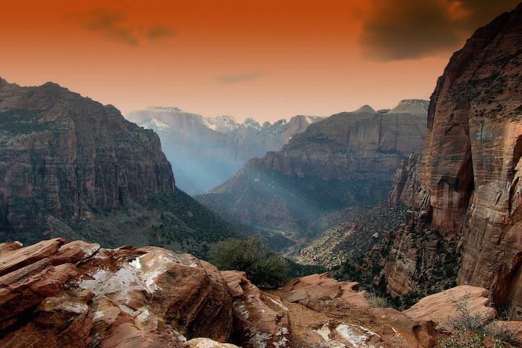 锡安国家公园zion-national-park