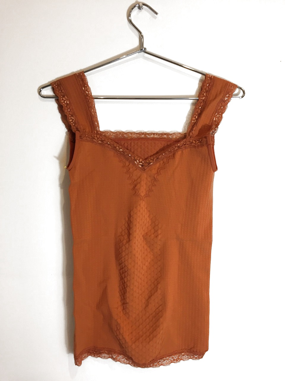 New-Anthropologie-Womens-Eloise-Laced-Seamless-Stretchy-V-Neck-Tank-Top-Cami-38 thumbnail 3