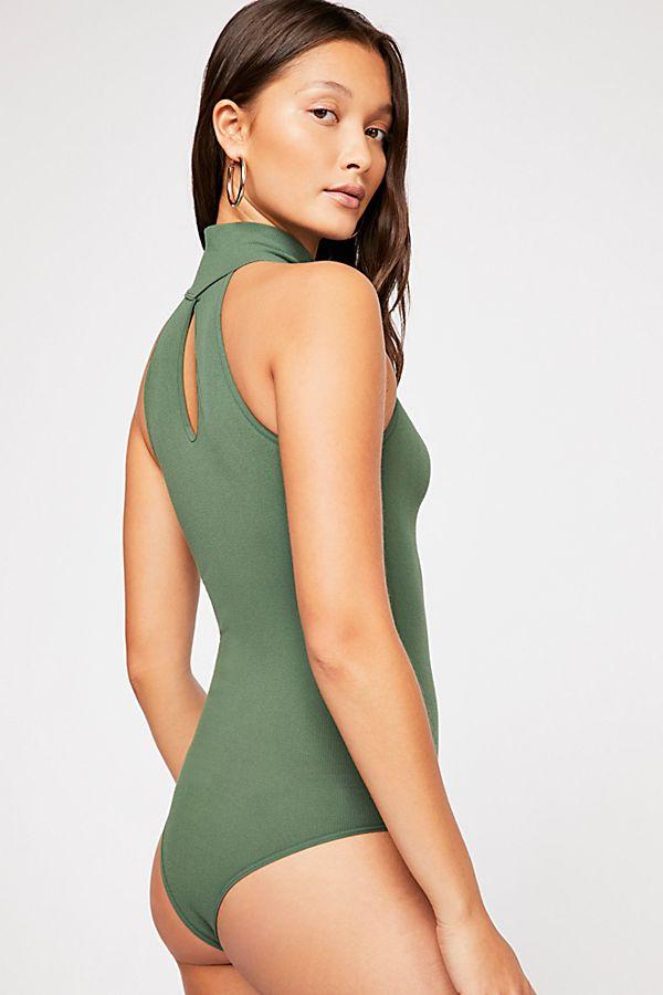 New-Free-People-Womens-Seamless-Turtleneck-Sleeveless-My-Way-Bodysuit-Xs-L-40 thumbnail 11