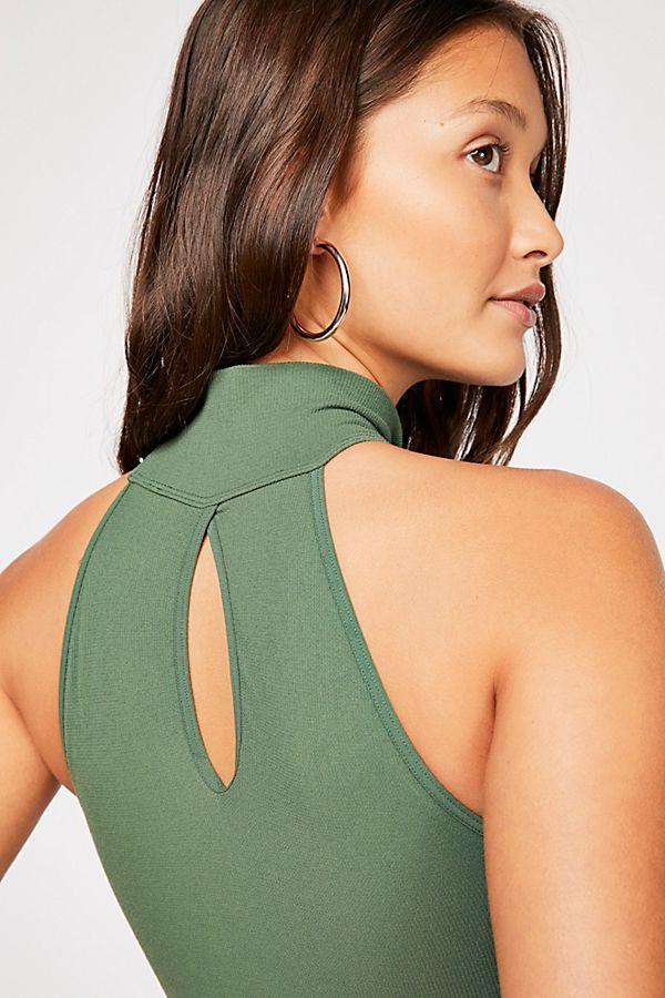 New-Free-People-Womens-Seamless-Turtleneck-Sleeveless-My-Way-Bodysuit-Xs-L-40 thumbnail 12