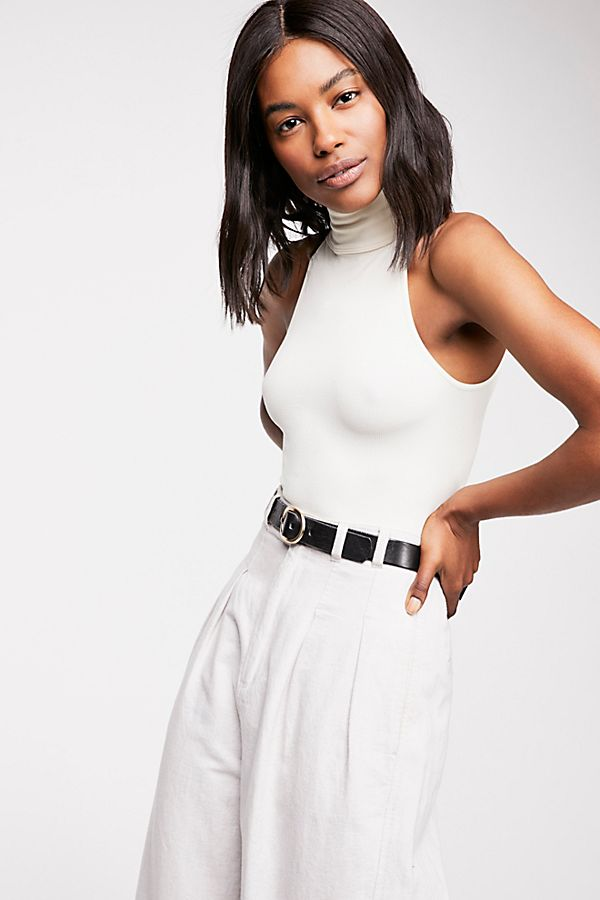 New-Free-People-Womens-Seamless-Turtleneck-Sleeveless-My-Way-Bodysuit-Xs-L-40 thumbnail 7