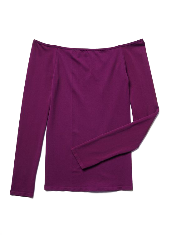 New-Free-People-Womens-Seamless-Long-Sleeve-Off-The-Shoulder-Solid-Top-38 thumbnail 15