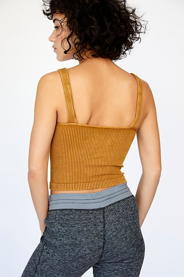 New-Free-People-Intimates-Womens-Ribbed-Washed-Seamless-Crop-Tank-Top-Cami-38 thumbnail 24