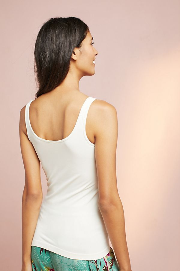 New-Anthropologie-By-Eloise-Seamless-Reversible-Tank-Top-Cami-Womens-M-Ivory-24 thumbnail 3