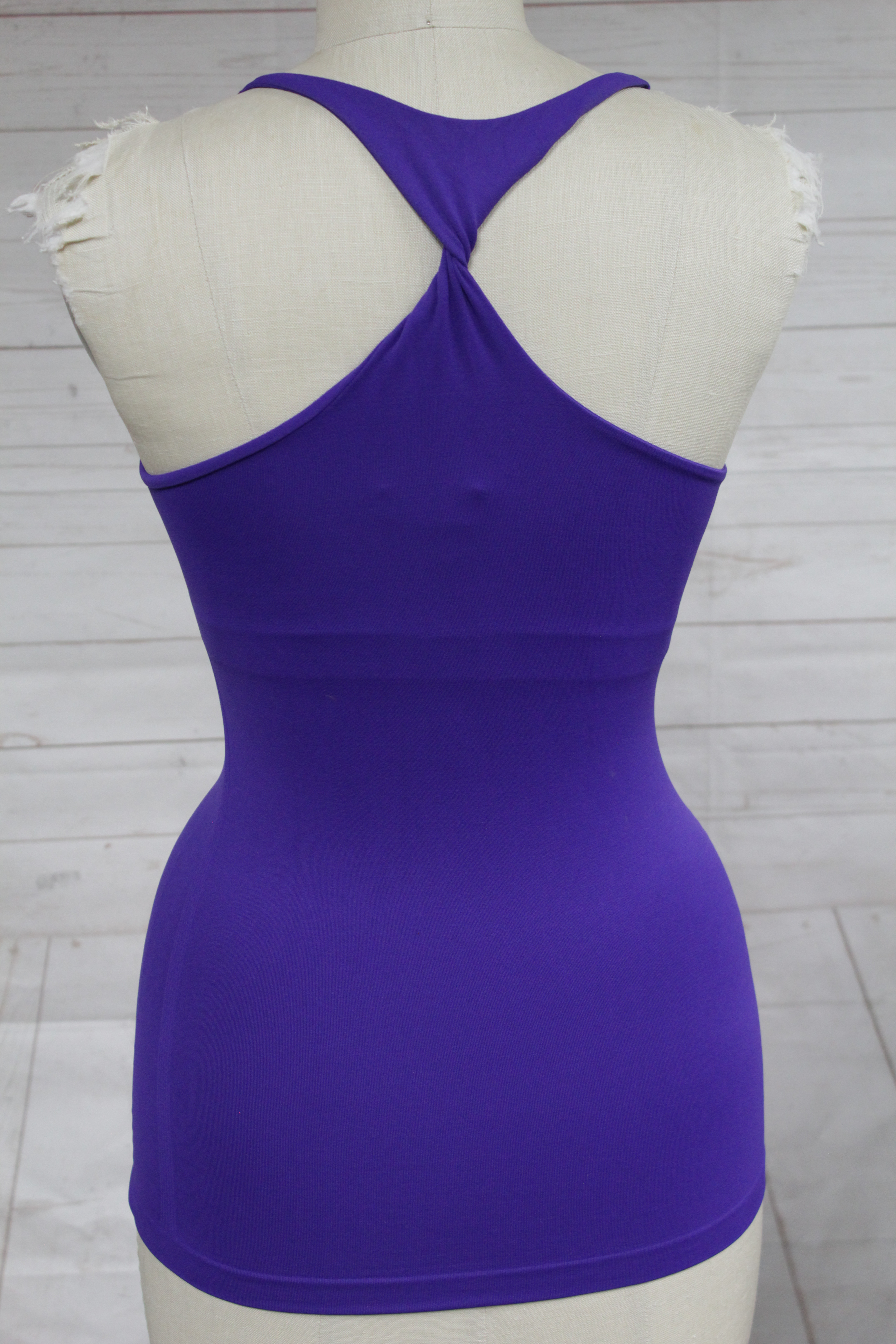 New-Bebe-Womens-The-New-Racerback-Tank-Top-Seamless-Knot-Racerback-Cami-Xs-L-24 thumbnail 21