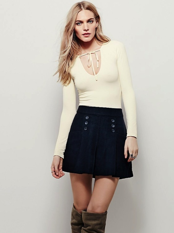 New Free People Womens Intimately Seamless Belle Long Sleeve Cami Top Xs-L $48