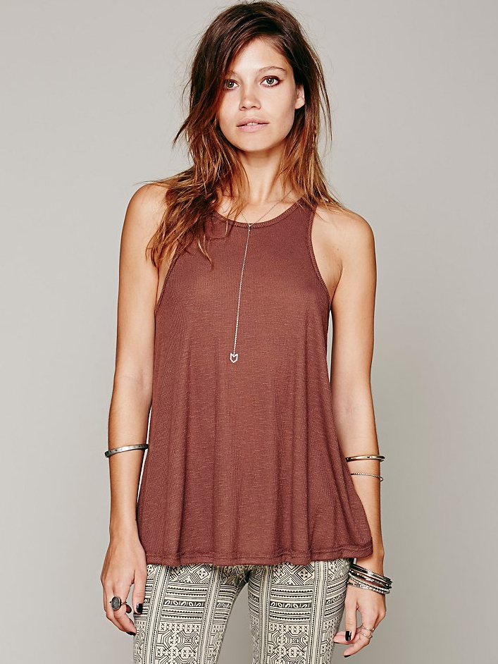 New-Free-People-La-Nites-Racerback-Boho-Tank-Top-Loose-Cami-Womens-Xs-L-20 thumbnail 6
