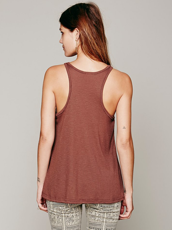 New-Free-People-La-Nites-Racerback-Boho-Tank-Top-Loose-Cami-Womens-Xs-L-20 thumbnail 7