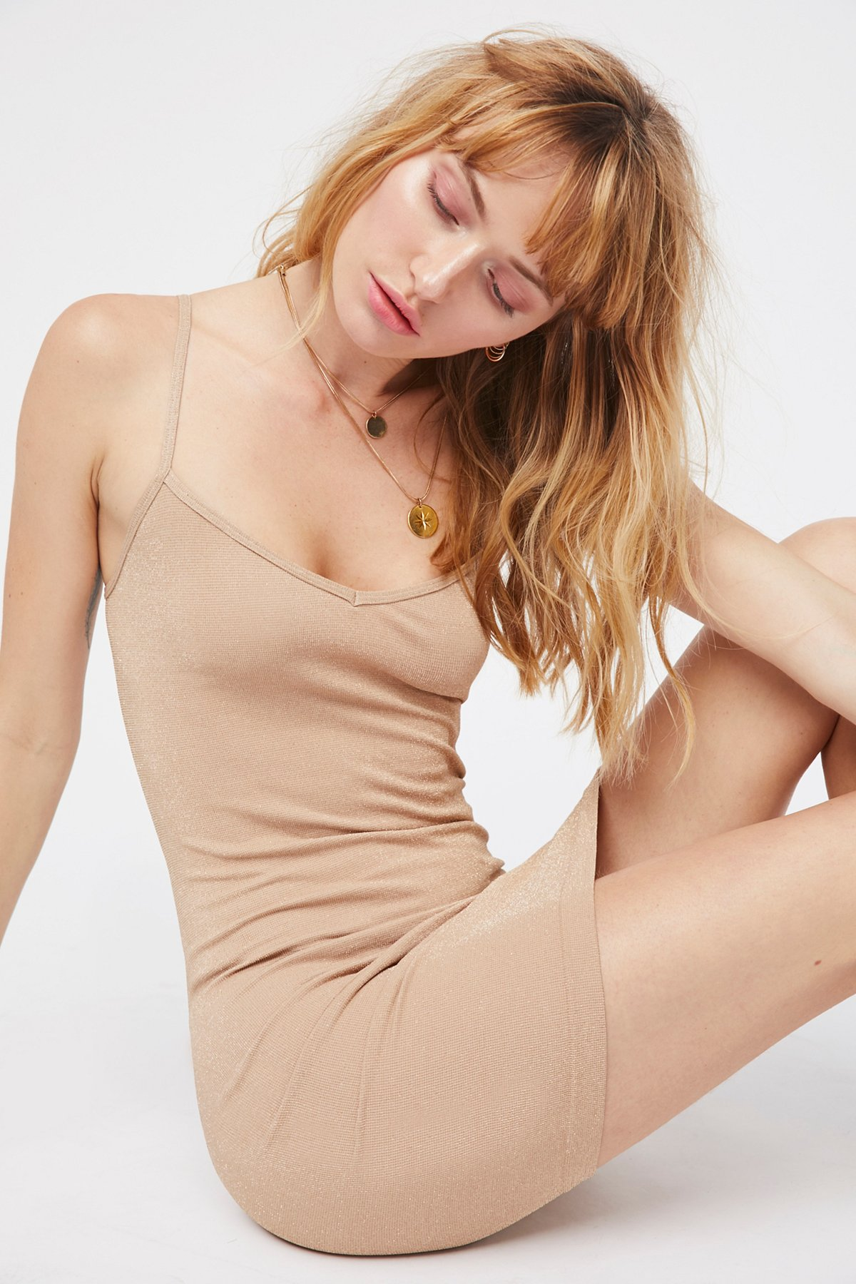 New-Free-People-Intimately-Seamless-Mini-Slip-Bodycon-Dress-Womens-Xs-L-30 thumbnail 8