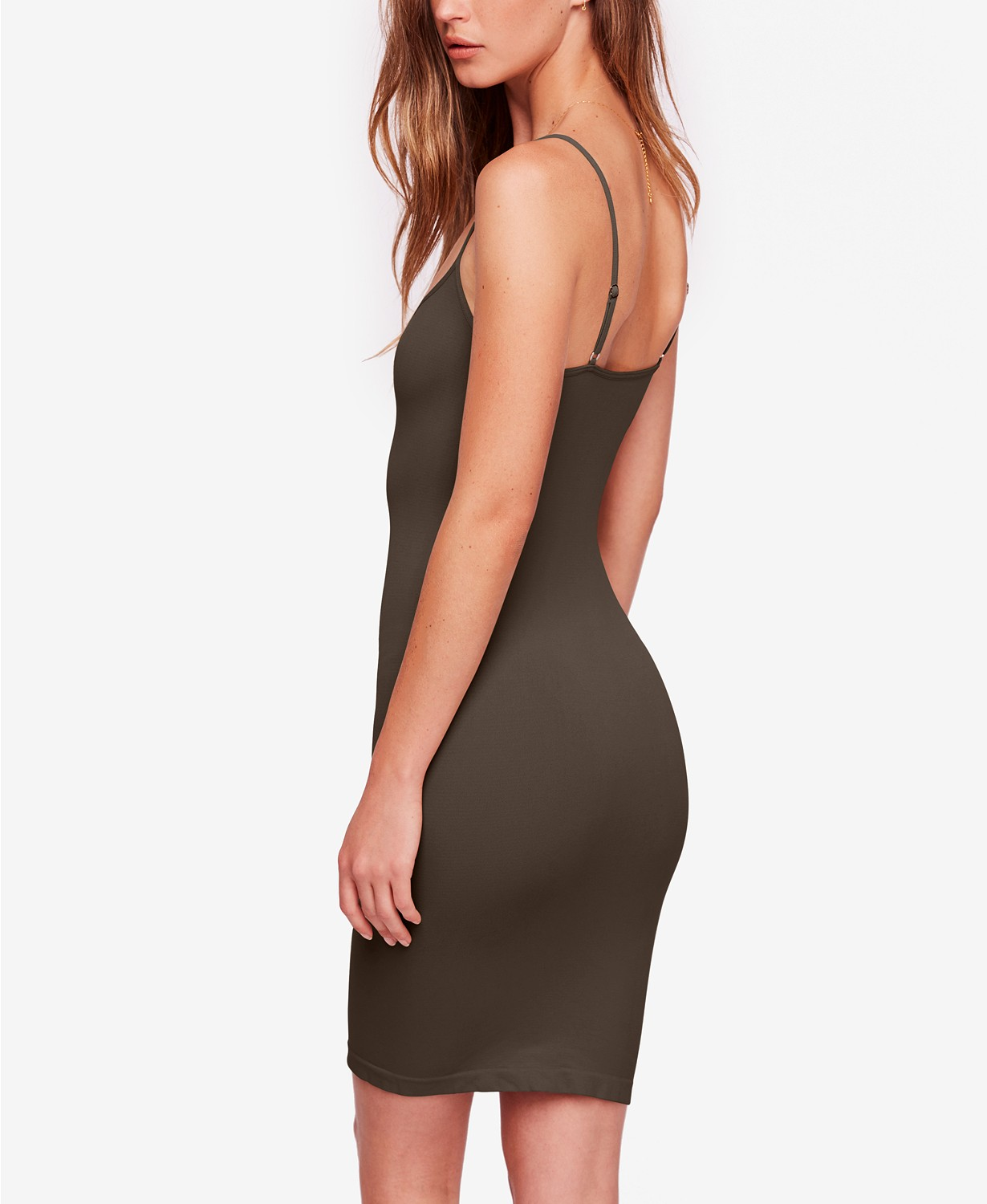 New-Free-People-Intimately-Seamless-Mini-Slip-Bodycon-Dress-Womens-Xs-L-30 thumbnail 14