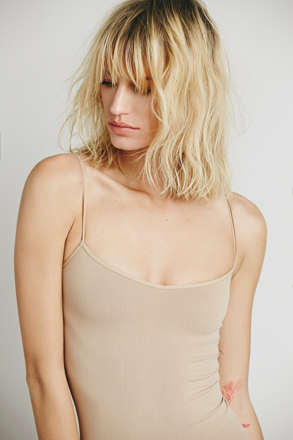 Free-People-Intimately-New-Womens-Tea-Length-Seamless-Slip-Dress-Womens-Xs-L-34 thumbnail 4