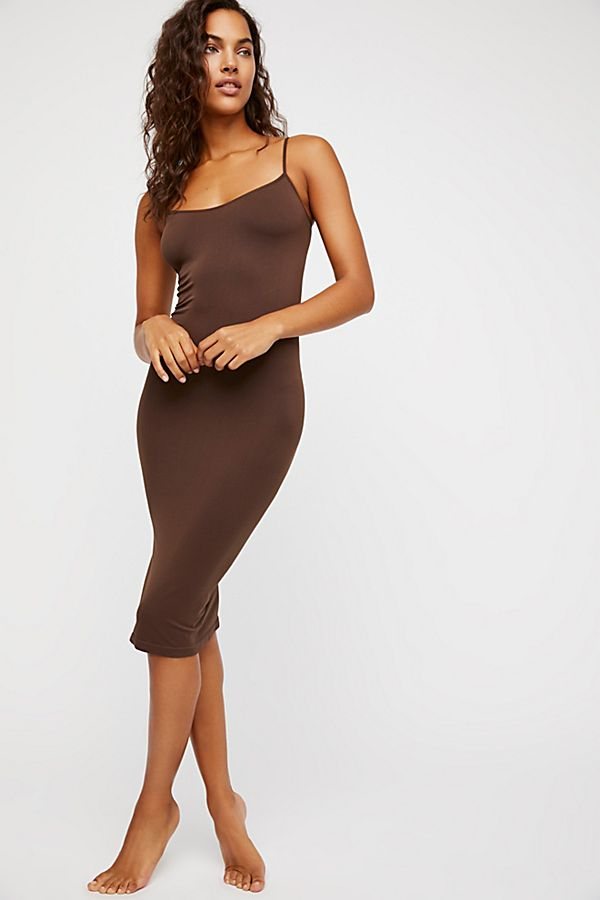Free-People-Intimately-New-Womens-Tea-Length-Seamless-Slip-Dress-Womens-Xs-L-34 thumbnail 23