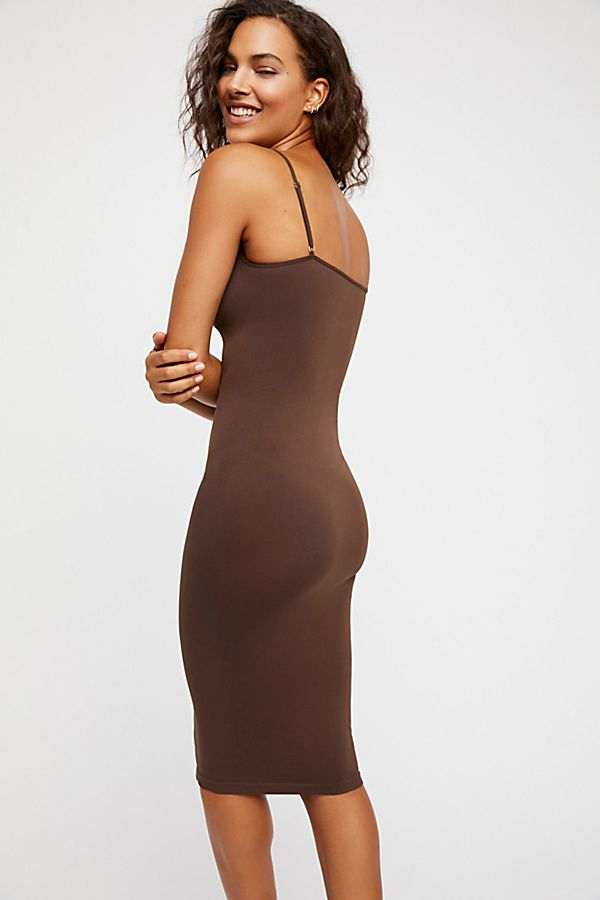 Free-People-Intimately-New-Womens-Tea-Length-Seamless-Slip-Dress-Womens-Xs-L-34 thumbnail 21