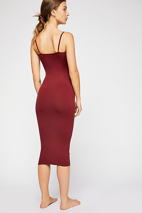 Free-People-Intimately-New-Womens-Tea-Length-Seamless-Slip-Dress-Womens-Xs-L-34 thumbnail 14