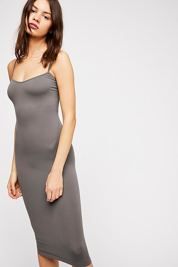 Free-People-Intimately-New-Womens-Tea-Length-Seamless-Slip-Dress-Womens-Xs-L-34 thumbnail 28