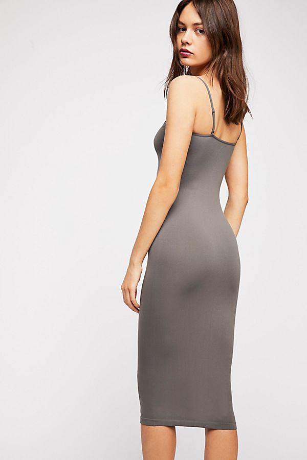 Free-People-Intimately-New-Womens-Tea-Length-Seamless-Slip-Dress-Womens-Xs-L-34 thumbnail 29