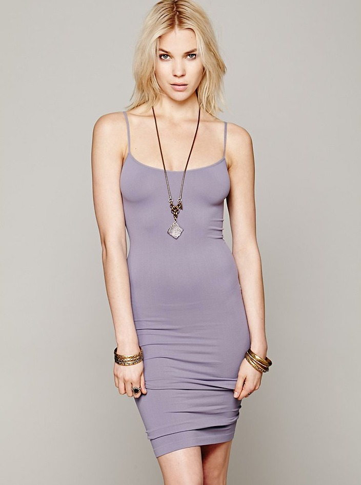 Free-People-Intimately-New-Womens-Tea-Length-Seamless-Slip-Dress-Womens-Xs-L-34 thumbnail 19