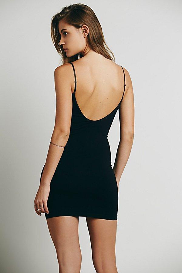 New-Free-People-Womens-Seamless-Low-Back-Bodycon-Mini-Slip-Dress-Xs-L-30 thumbnail 15