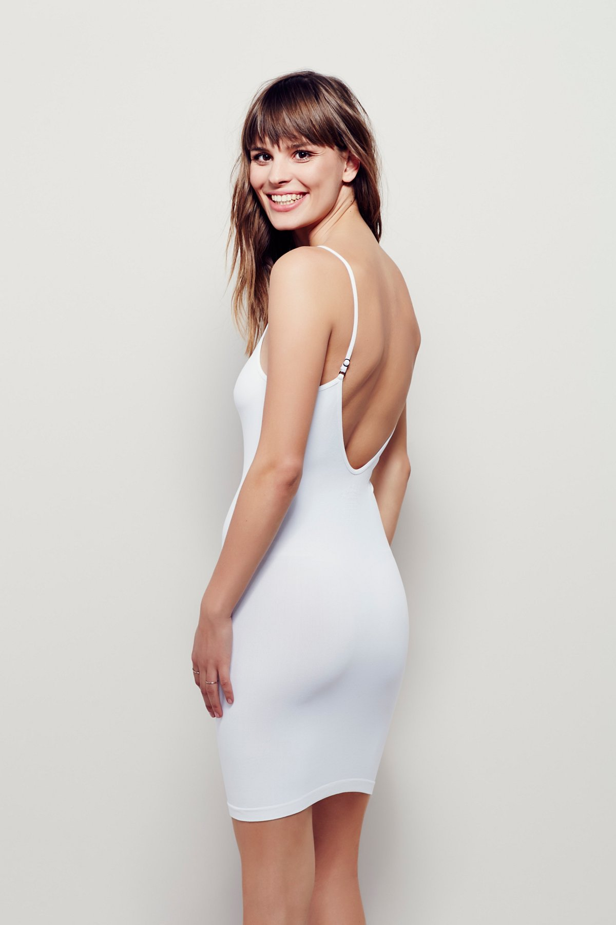 New-Free-People-Womens-Seamless-Low-Back-Bodycon-Mini-Slip-Dress-Xs-L-30 thumbnail 10