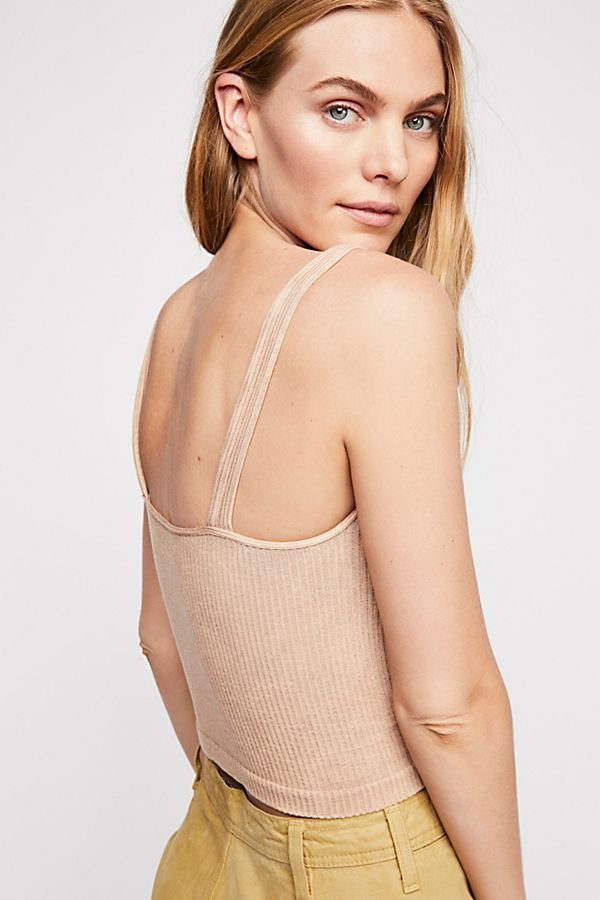 New-Free-People-Intimately-Washed-Seamless-Crop-Top-Ribbed-Cami-Multicolors-38 thumbnail 25