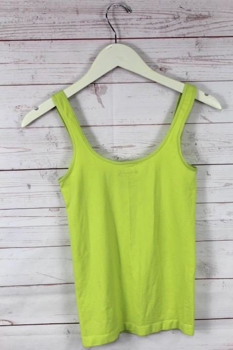 New Free People Intimately Seamless Tank Top Solid Yoga Cami Green Pink $20