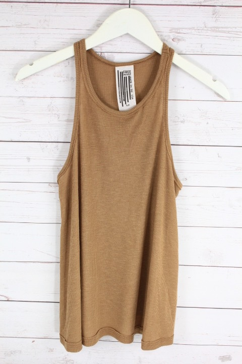 New-Free-People-La-Nite-Tank-Top-Boho-Ribbed-Loose-Cotton-Cami-Womens-Xs-L-20 thumbnail 9
