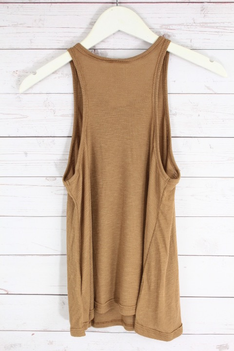New-Free-People-La-Nite-Tank-Top-Boho-Ribbed-Loose-Cotton-Cami-Womens-Xs-L-20 thumbnail 10