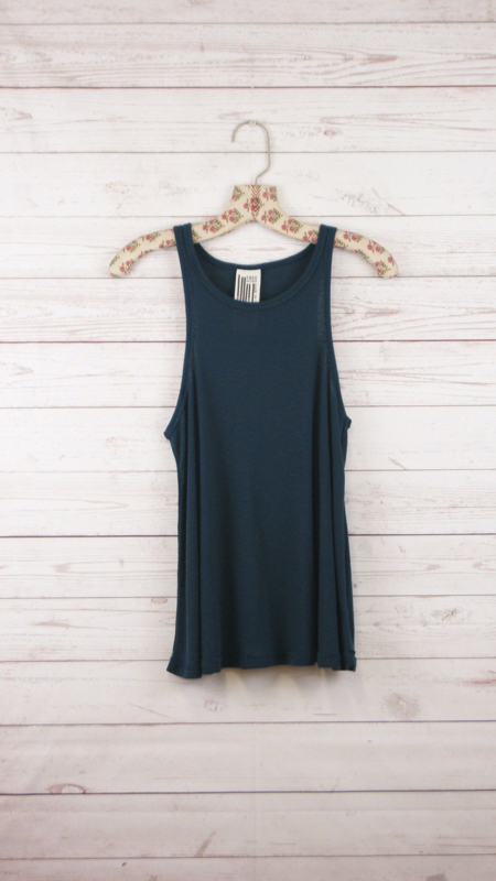 New-Free-People-La-Nite-Tank-Top-Boho-Ribbed-Loose-Cotton-Cami-Womens-Xs-L-20 thumbnail 13